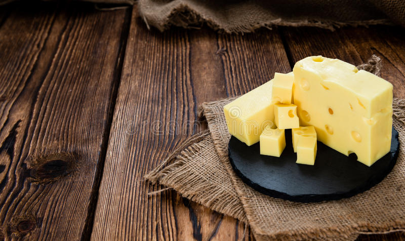 Bloque del queso fotos de archivo libres de regalías