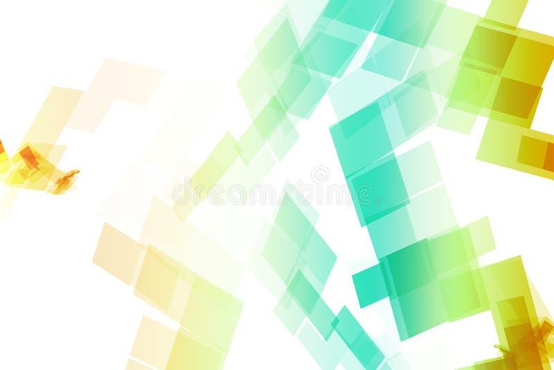 bloque l'arc-en-ciel de données illustration stock