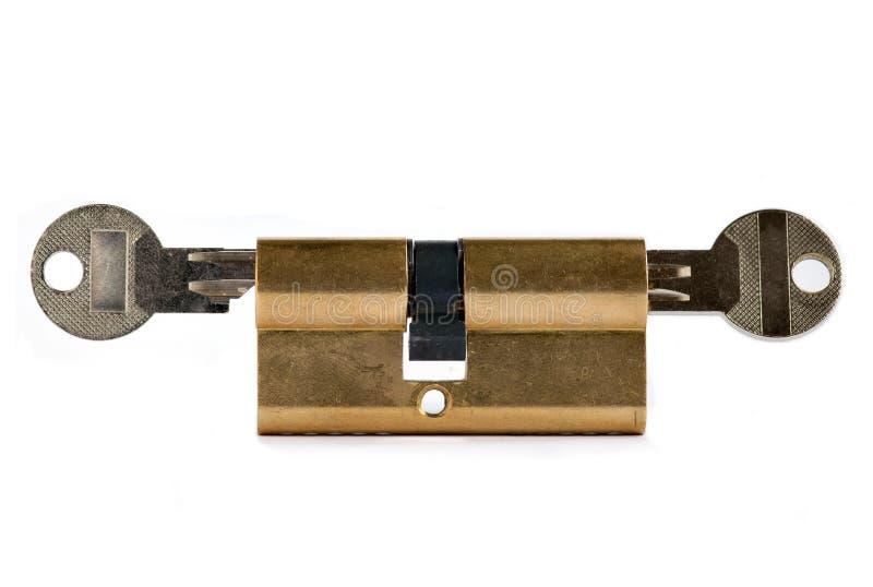 Bloqueado - bajo llave y candado imagen de archivo