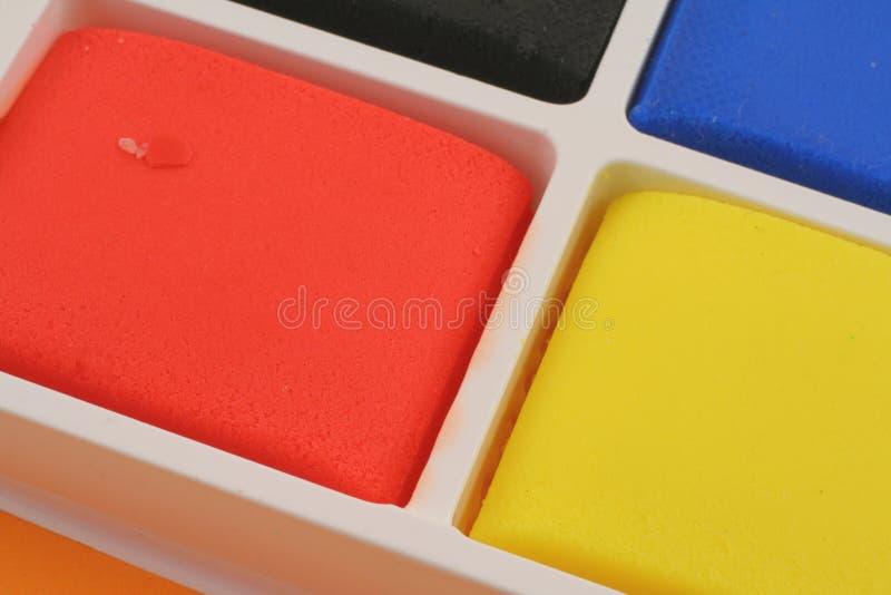 Bloques coloridos del plasticine foto de archivo libre de regalías