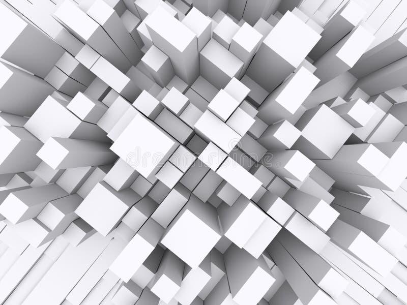 bloques 3d fotografía de archivo libre de regalías