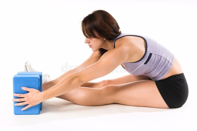 Bloques de la yoga foto de archivo libre de regalías