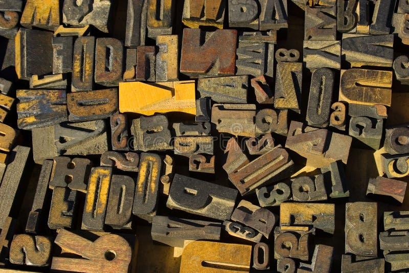 Bloques de madera fotografía de archivo