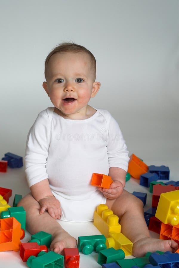 Bloques del bebé foto de archivo