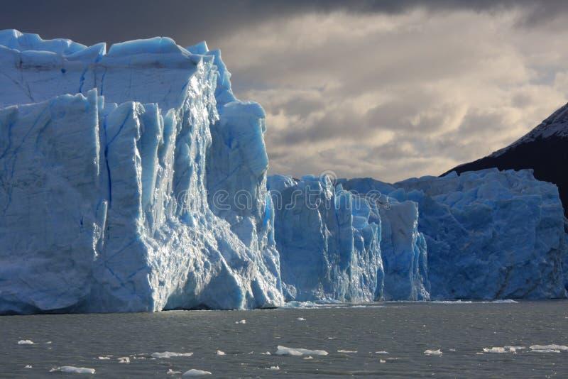Bloques del glaciar del hielo foto de archivo libre de regalías