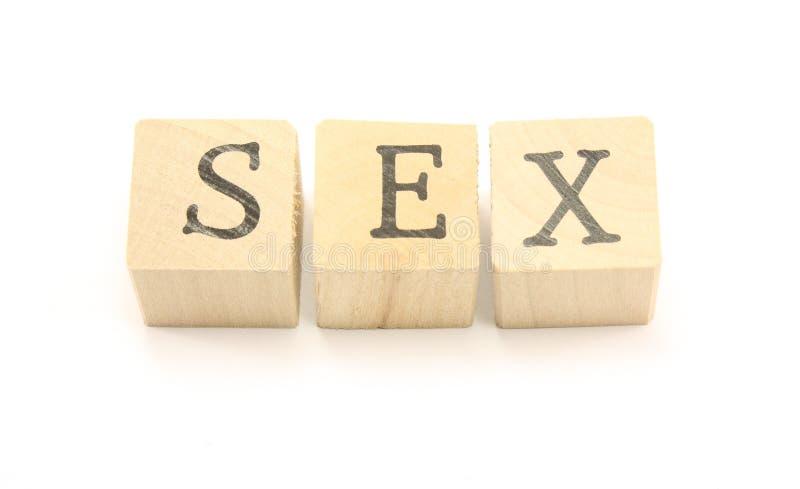 Bloques del sexo fotografía de archivo libre de regalías