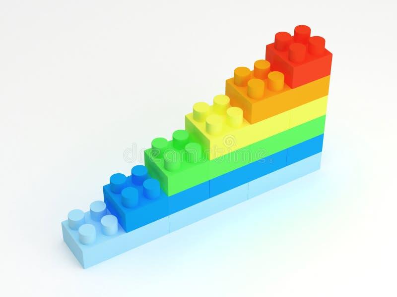 Bloques huecos ilustración del vector