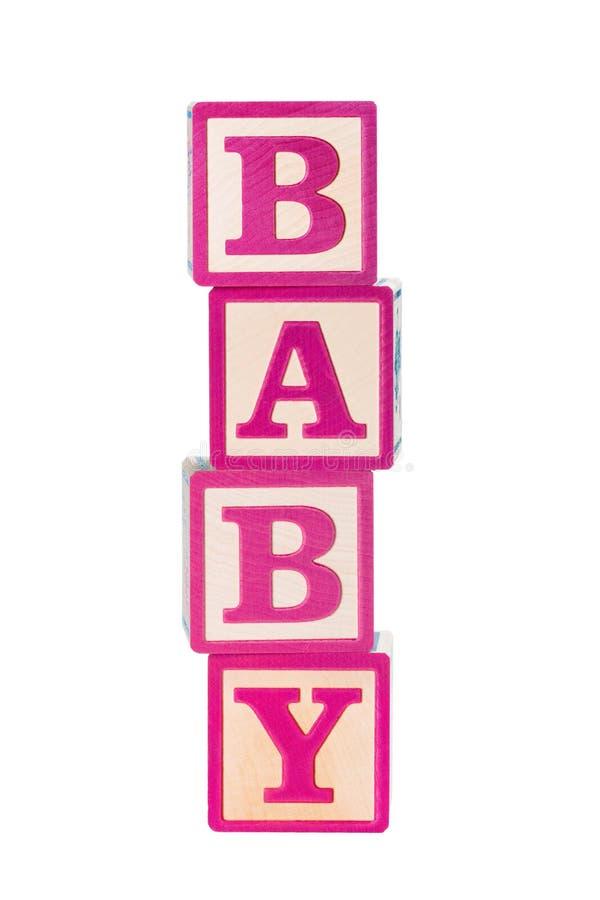 Bloques huecos del bebé imagenes de archivo