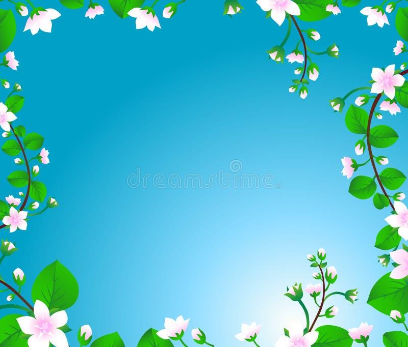 Blossom tree stock illustration