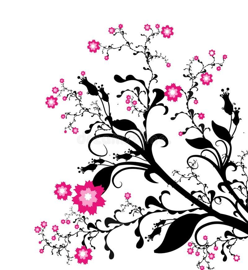 Blossoming spring royalty free illustration