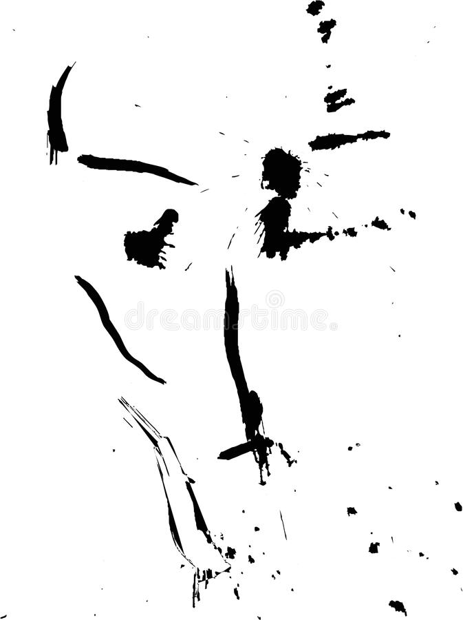 Download Blot face stock vector. Image of curve, composition, artistic - 27550283
