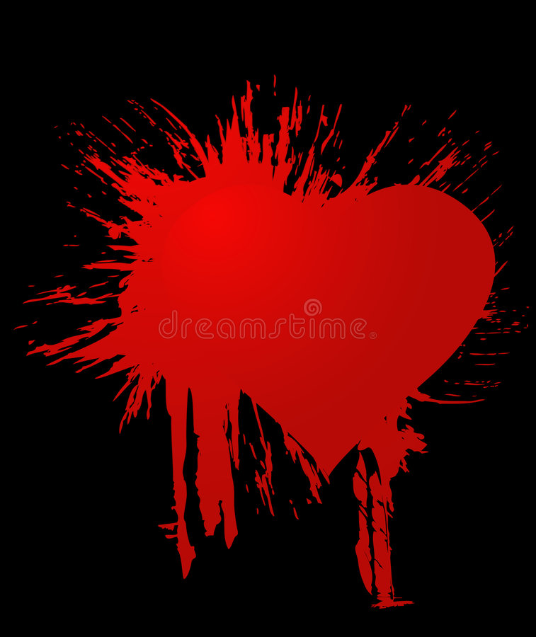 Download Blot Heart Royalty Free Stock Photo - Image: 4224575
