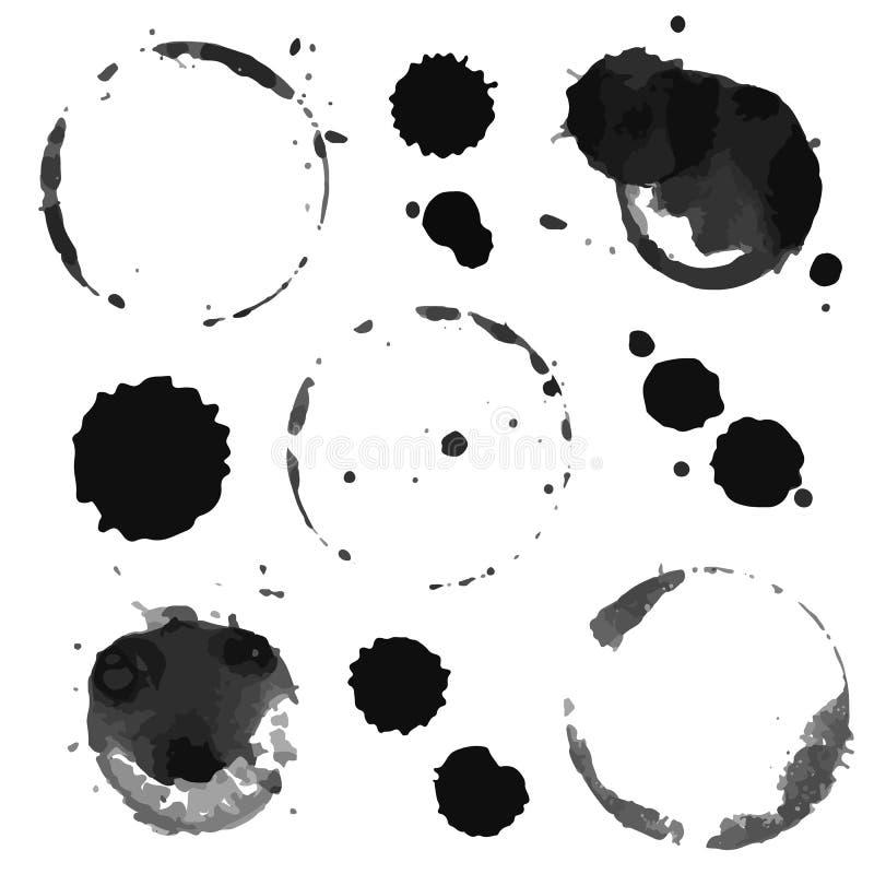 blots ilustración del vector