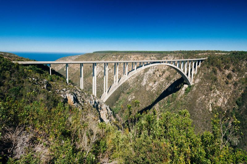 Bloukrans桥梁, Bloukrans,东开普省省,南非 库存图片