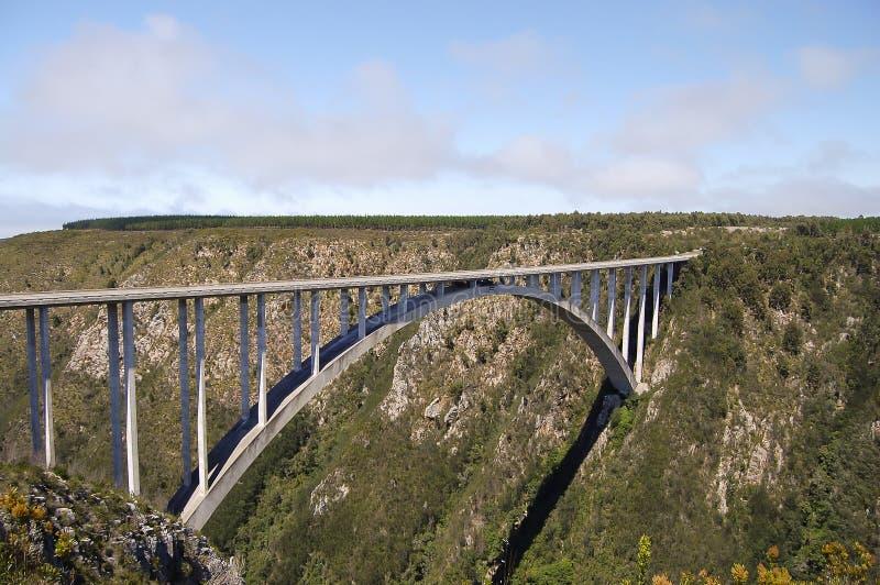 Bloukrans bro - Sydafrika royaltyfria foton
