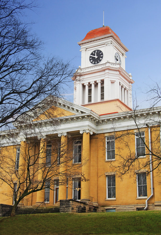 Blount County Courthouse royalty free stock image