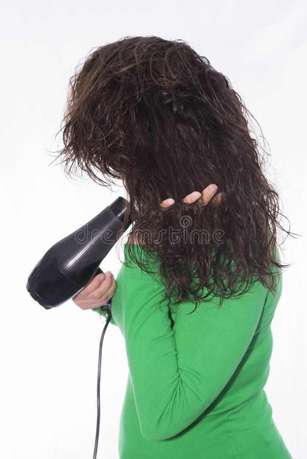 Blow dryer. royalty free stock photography