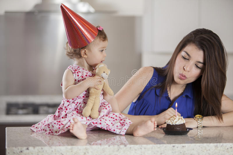 Download Blow like this stock photo. Image of wish, counter, mother - 33828326