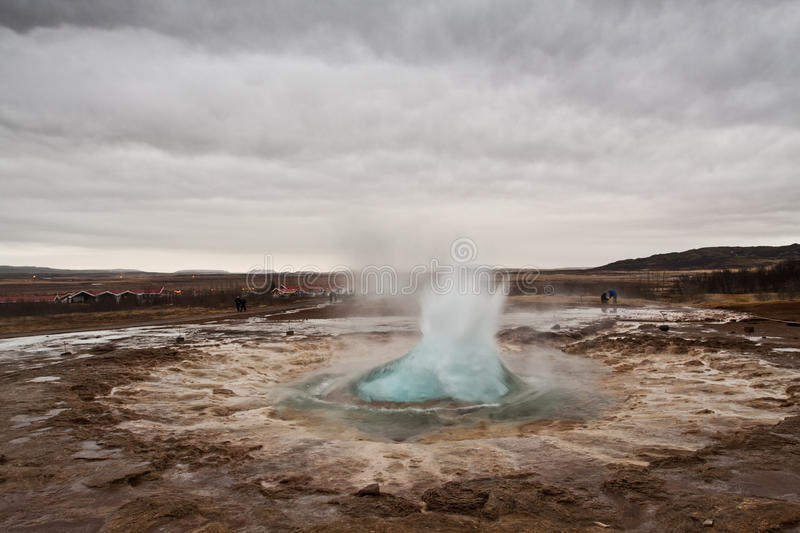 Download Blow Upp Geysir Royalty Free Stock Photos - Image: 13064968