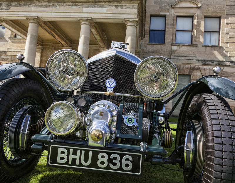 Blower Bentley detail editorial image  Image of supercharged