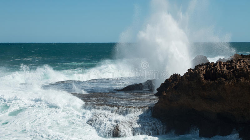 Download Blowholes stock photo. Image of carved, seas, layers - 78347294