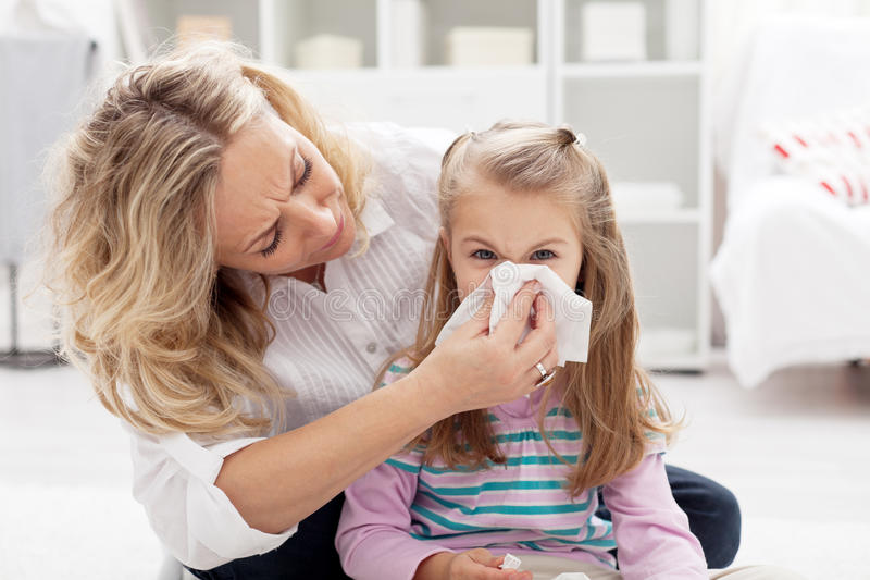 Download Blowing nose stock photo. Image of illness, allergy, face - 22711940