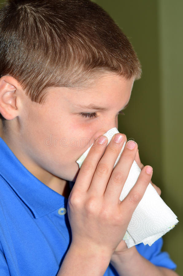 Download Blowing Nose Stock Photography - Image: 23177152