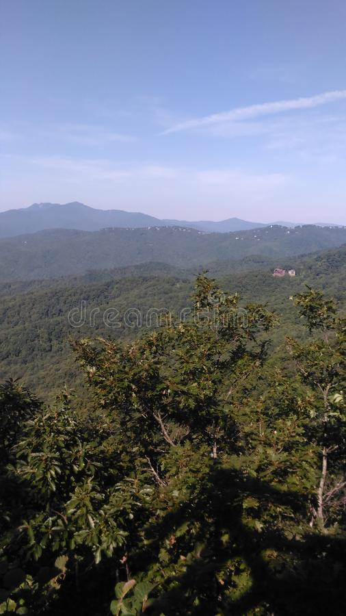 Blowing rock royalty free stock image