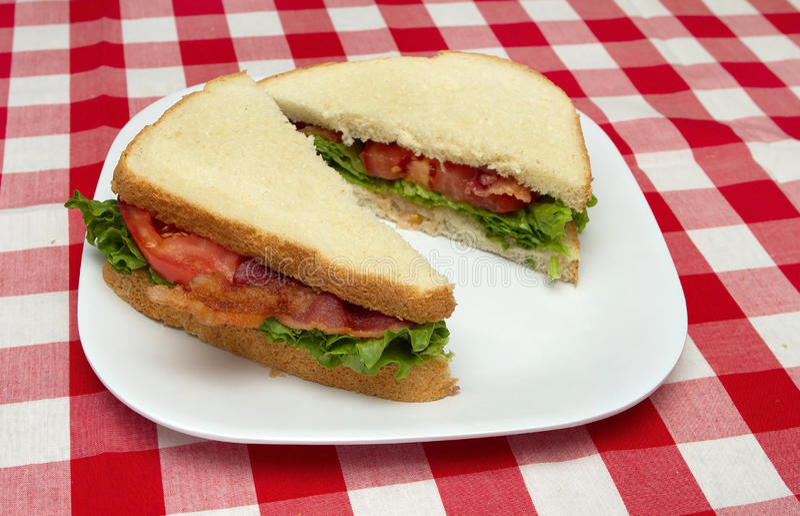blt三明治 免版税库存图片