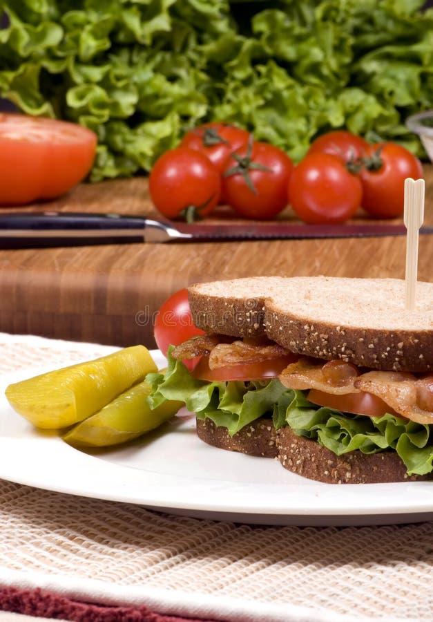 Download BLT 003 image stock. Image du légume, frais, viande, repas - 2149563