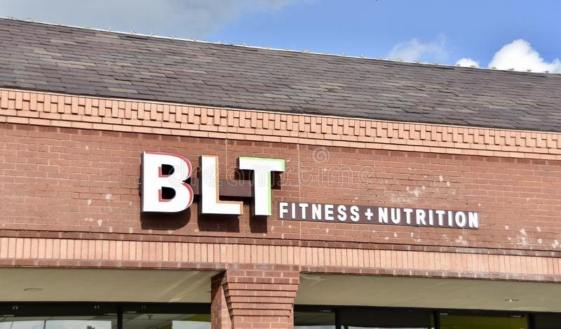 BLT Fitness and Nutrition, Cordova, TN. BLT Fitness and Nutrition is located in Cordova, Tennessee, the facility houses a wide variety of classes and instruction royalty free stock photos