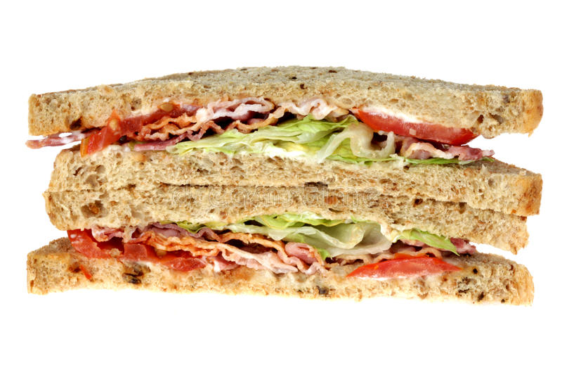 BLT Sandwich royalty free stock image