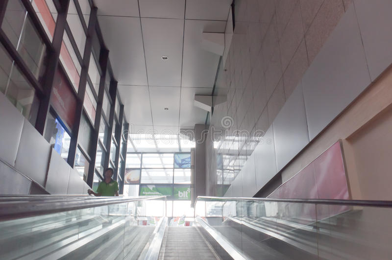 Blt Supermarket Escalator Editorial Photo