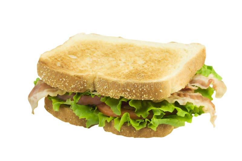 blt wznoszący toast biel obrazy stock