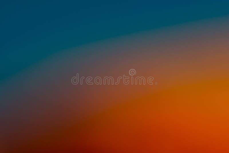 Blu, acquamarina, carta da parati arancio e marrone/fondo regolari e vaghi fotografia stock