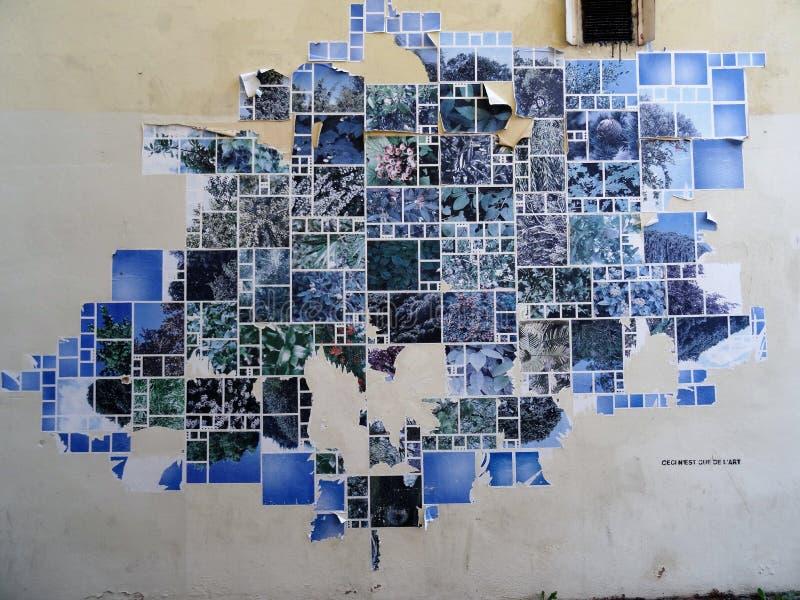 Blu, arte, spazio, mondo immagini stock libere da diritti