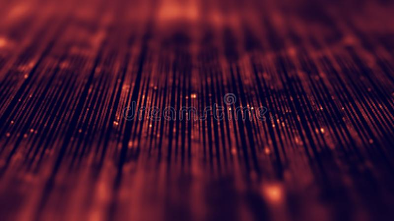 Blu astratto del fondo di musica L'equalizzatore per musica, mostrante le onde sonore con musica ondeggia, equalizzatore del fond immagine stock libera da diritti