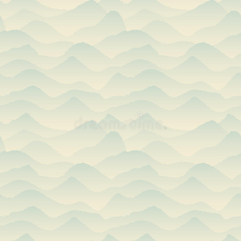 Blu astratto, modello della montagna royalty illustrazione gratis