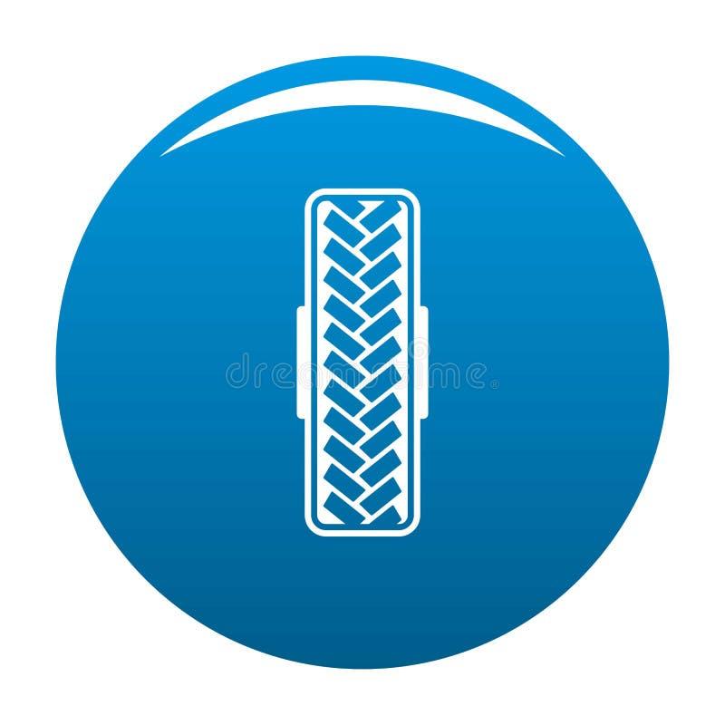 Blu dell'icona del modello del passo royalty illustrazione gratis