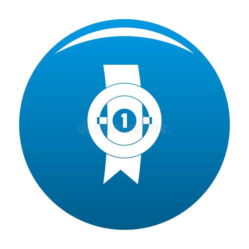 Blu dell'icona del nastro del premio royalty illustrazione gratis