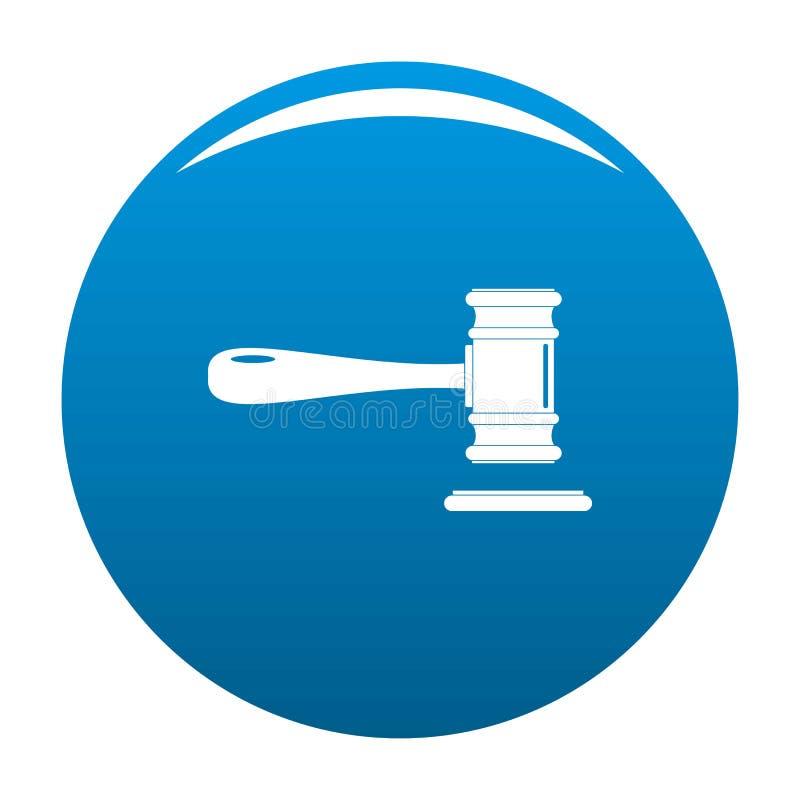Blu di vettore dell'icona della corte royalty illustrazione gratis