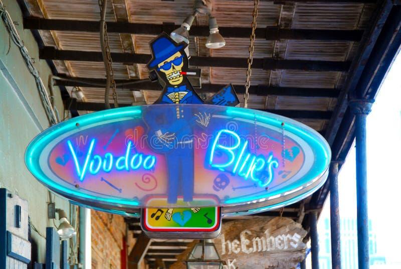Blu di voodoo immagine stock