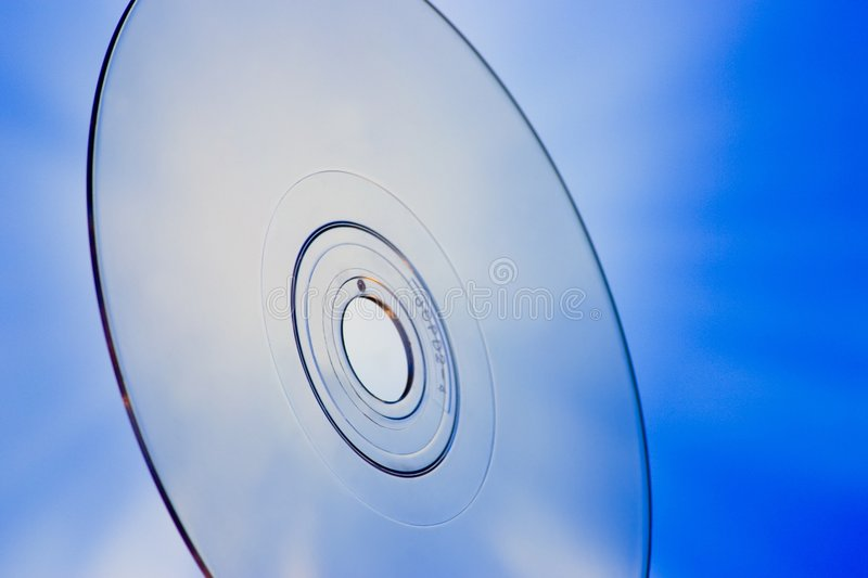 Blu-Ray Disc Concept royalty free stock image