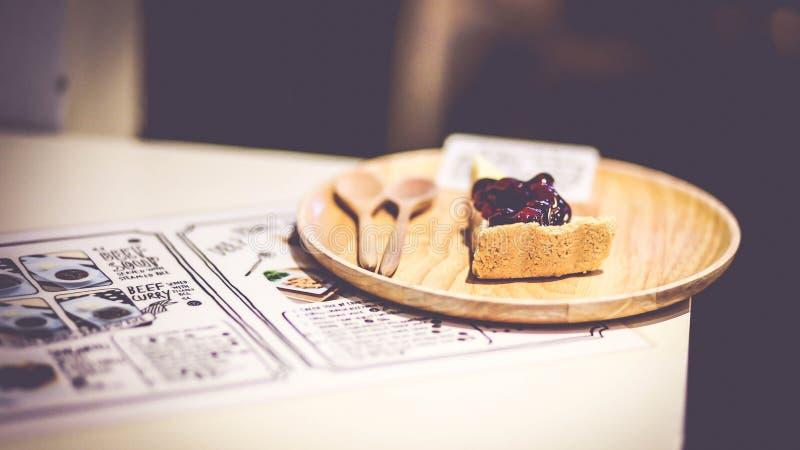 Bluberry pie stock photo