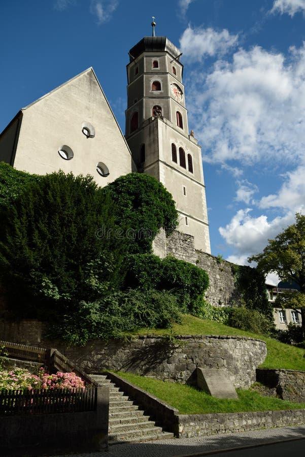 Bludenz, Vorarlberg, Oostenrijk stock fotografie