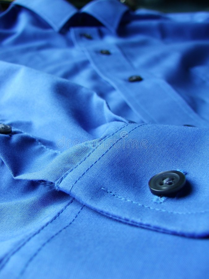 Download Blue stock image. Image of clothing, shirt, close, wear - 283421
