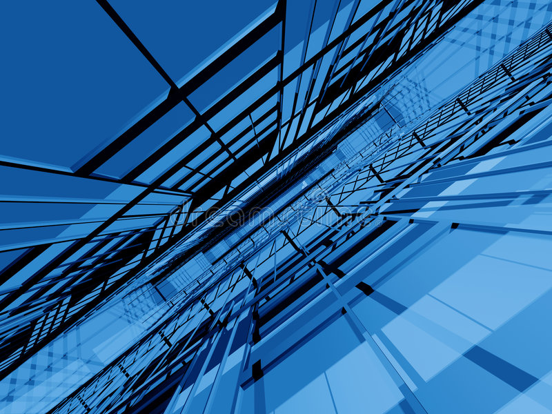 Download Blue 3d structure infinity stock illustration. Illustration of fiction - 2559375
