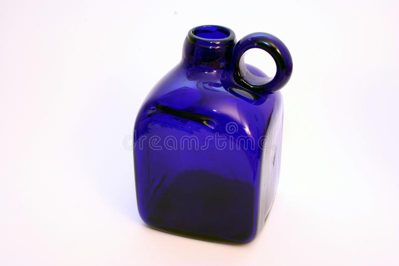 Download Blue stock photo. Image of bottom, glass, dishes, bottle - 56450
