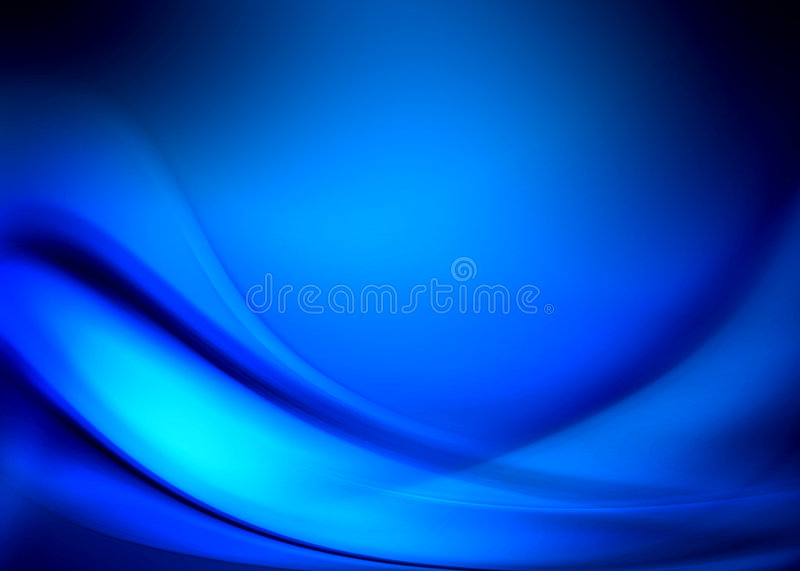 Blue abstract royalty free illustration