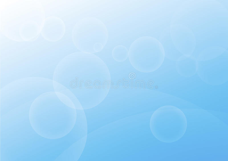 Blue abstract. Composition in background stock illustration